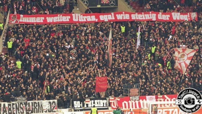 check out d82da 68be8 VfB Stuttgart Fanszene zeigt Banner nach 80 Stadtverboten ...